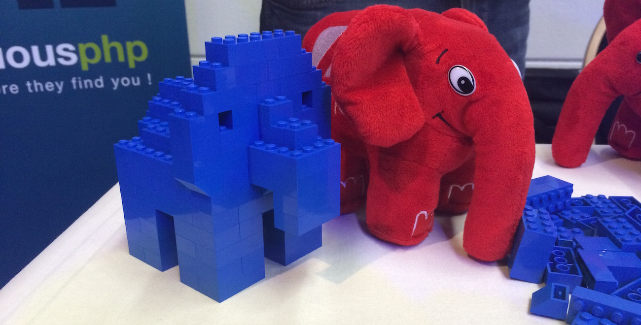 My attempt at a Lego ElePHPant